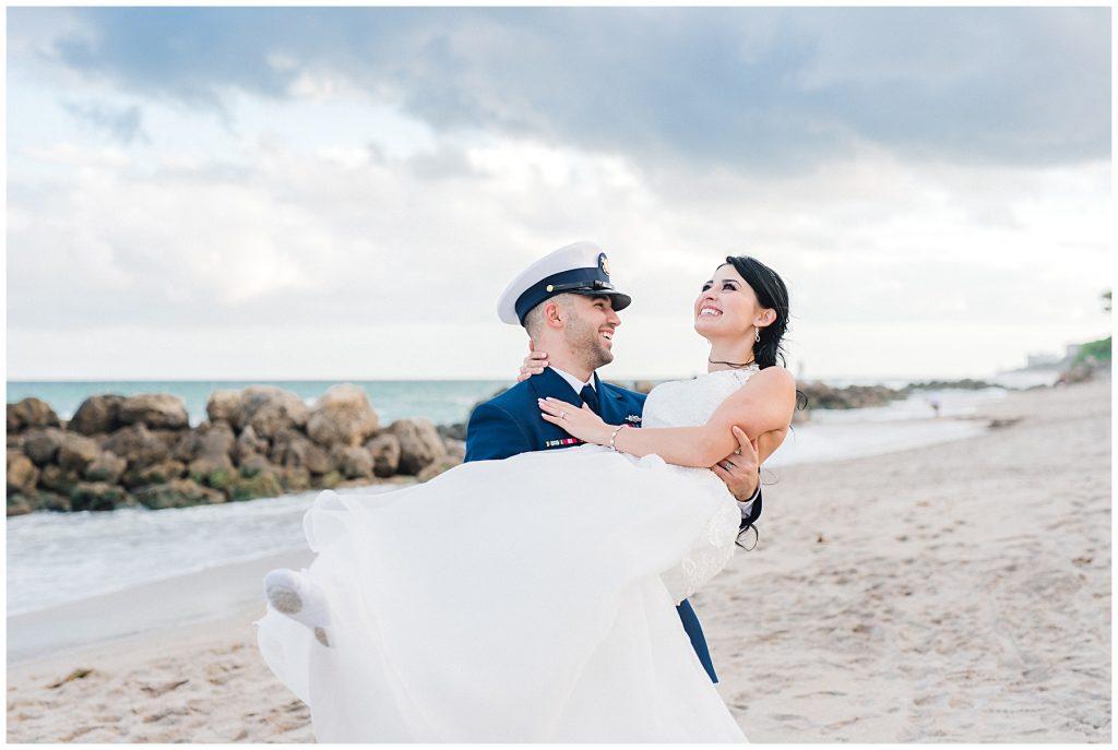 Intimate Nautical Military Wedding • Rachel Nocera Photography